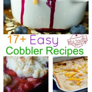 Over 17 Easy Cobbler Recipes