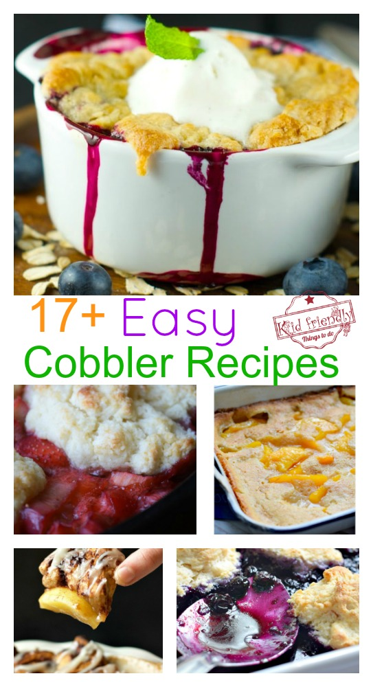 Over 17 Simply Delicious Easy Cobbler Recipes