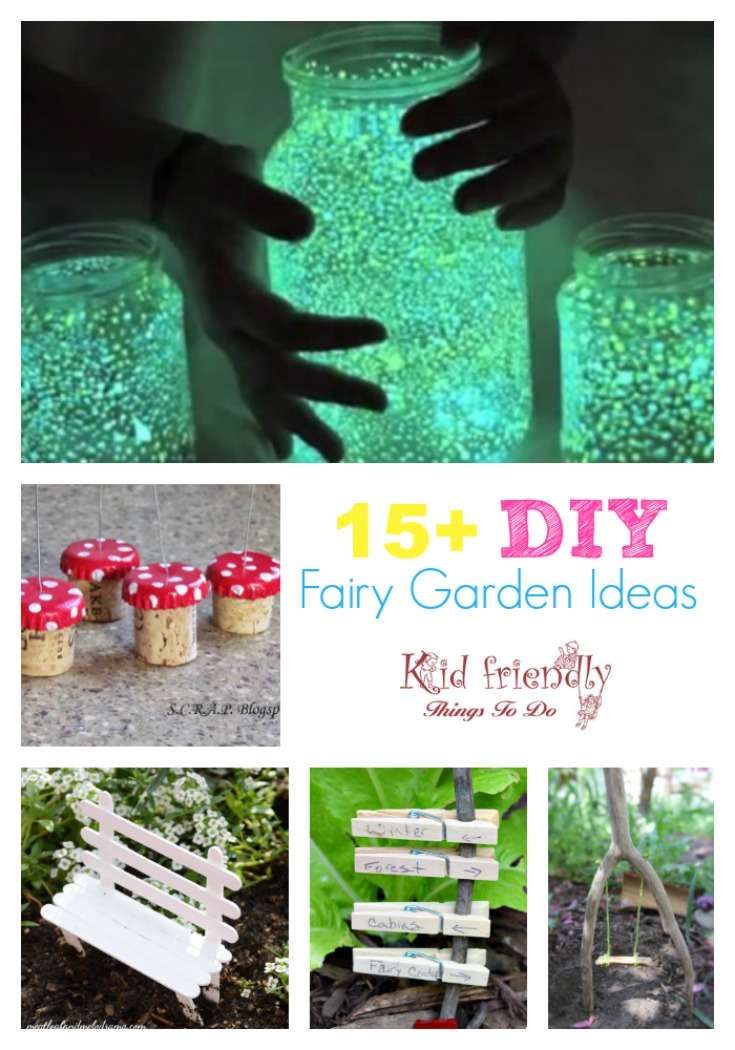 Over 15 DIY Fairy Garden Ideas