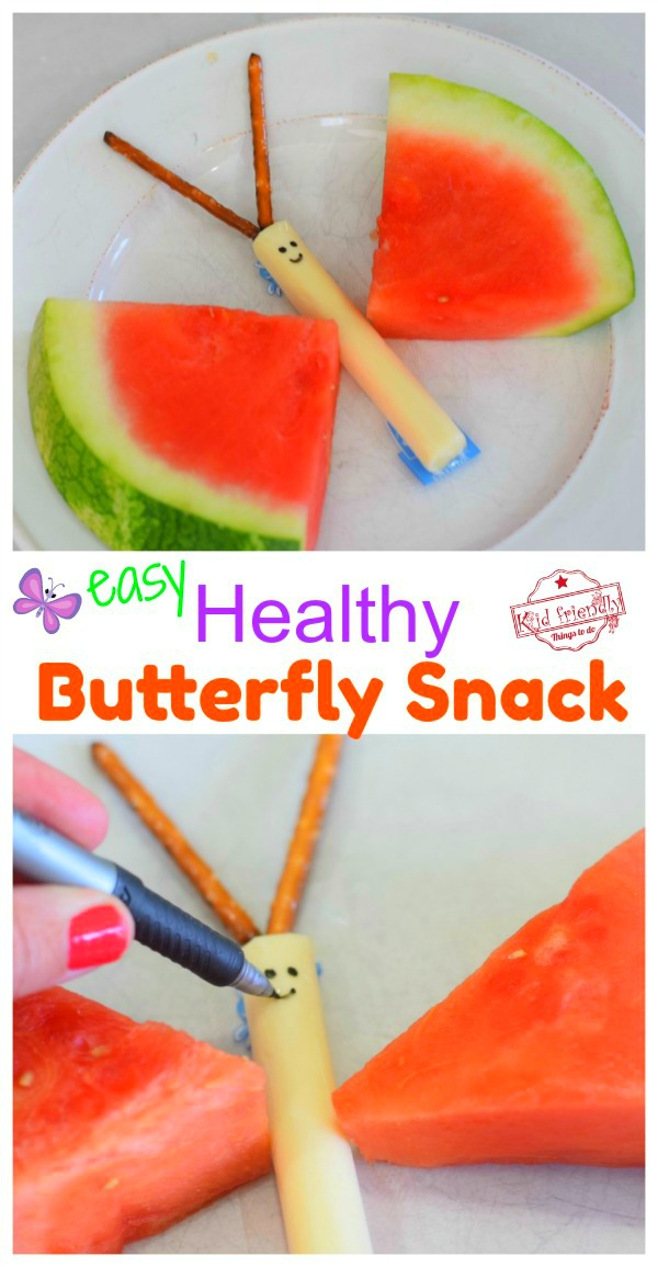 Easy healthy summer snack for the kids