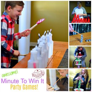 Fun and Easy Minute To Win It Party Games