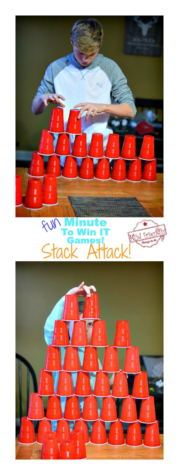 Stack Attack Minute To Win It Game