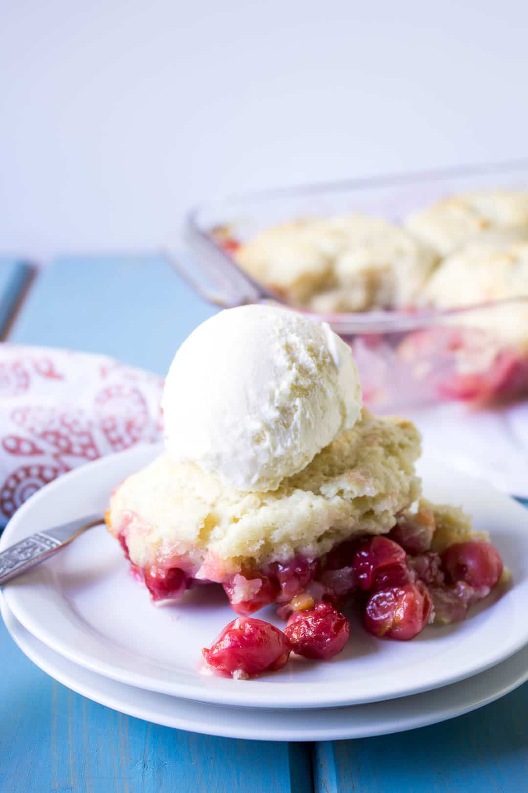 Cherry Cobbler Dessert Recipe