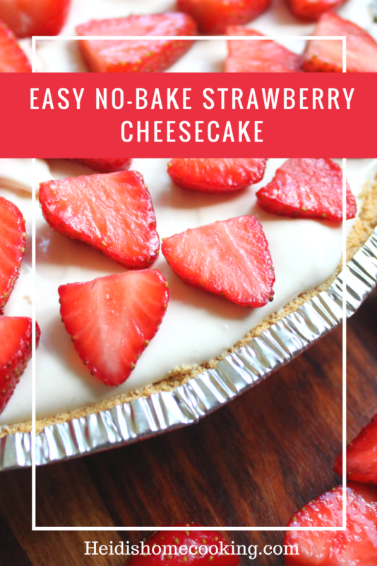 No Bake Patriotic Cheesecake Dessert