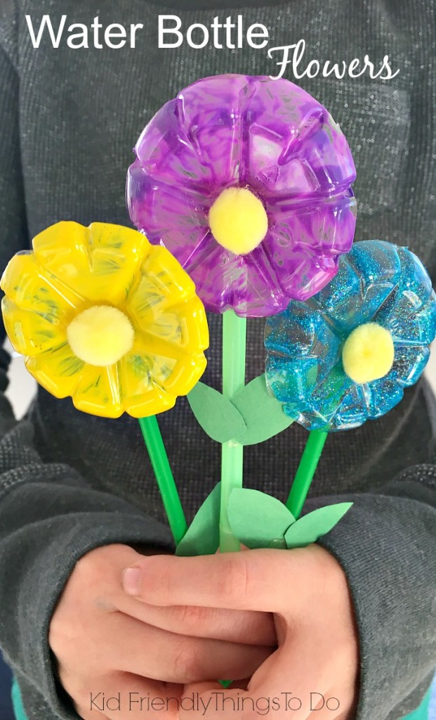 Recycled Water Bottle Craft for Kids