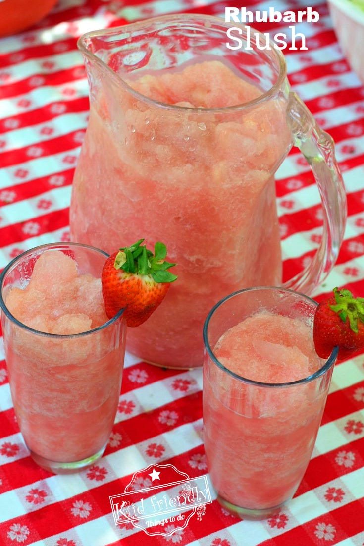 Rhubarb Recipe for Summer Drink