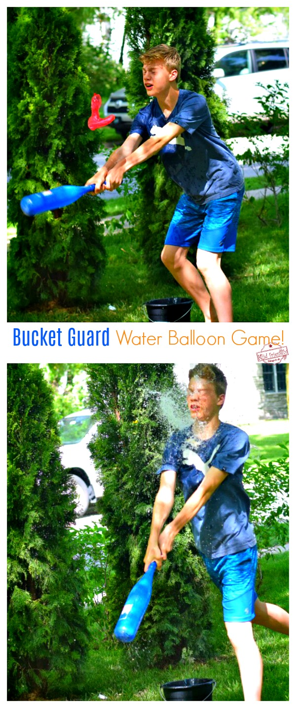 Bucket Guard Water Balloon Game for Kids Teens and Adults to Play