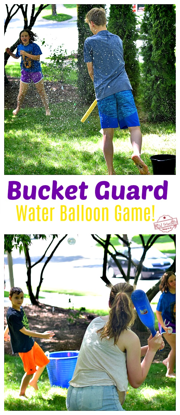 Water Balloon Game for Minute To Win It Summer Games