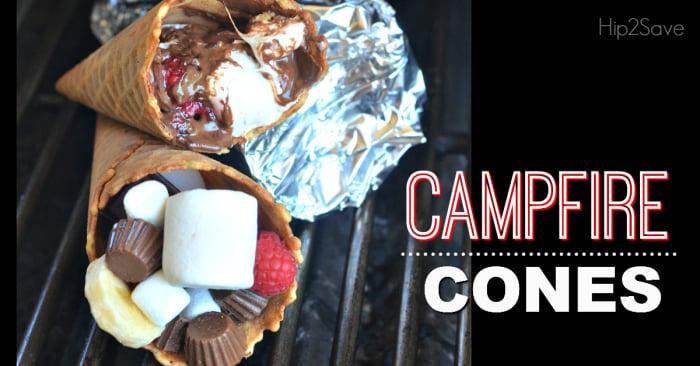 Campfire dessert