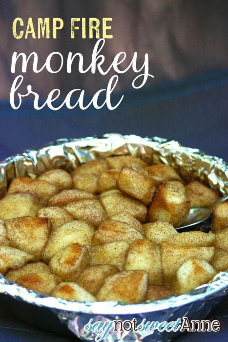 Monkey Bread Camping Dessert