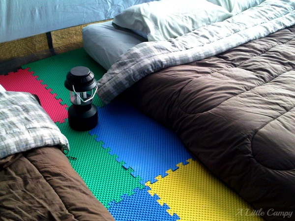 Foam Mat for Tent Camping Hack