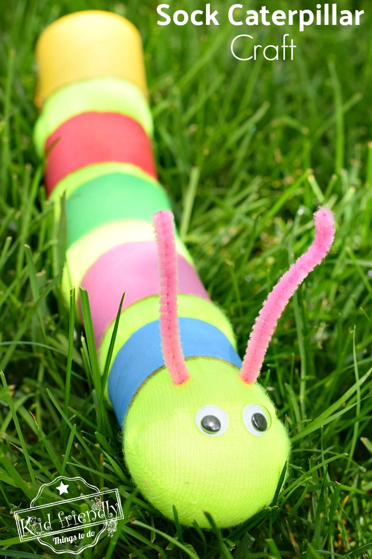 Caterpillar Craft for Toddlers to Make