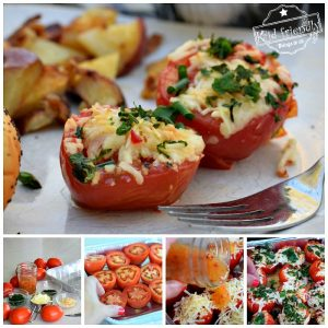 Cheesy Grilled Tomatoes an Easy Grilling Recipe