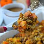Pecan and Cornbread Stuffing recipe