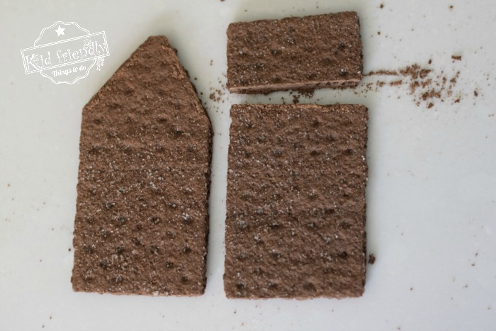 Graham Cracker House Pieces