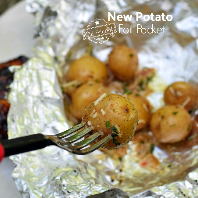Zesty Foil Packet New Potatoes on the Grill Recipe | Kid Friendly Things To Do