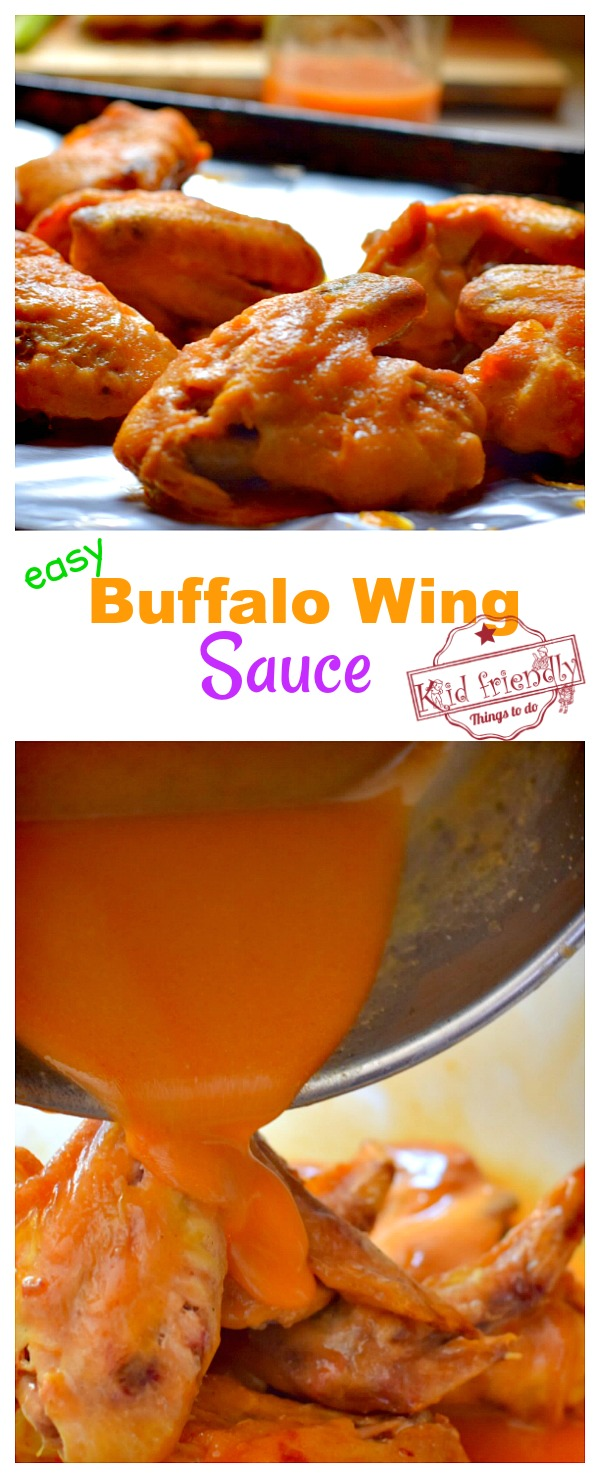 The best easy buffalo wing sauce recipe