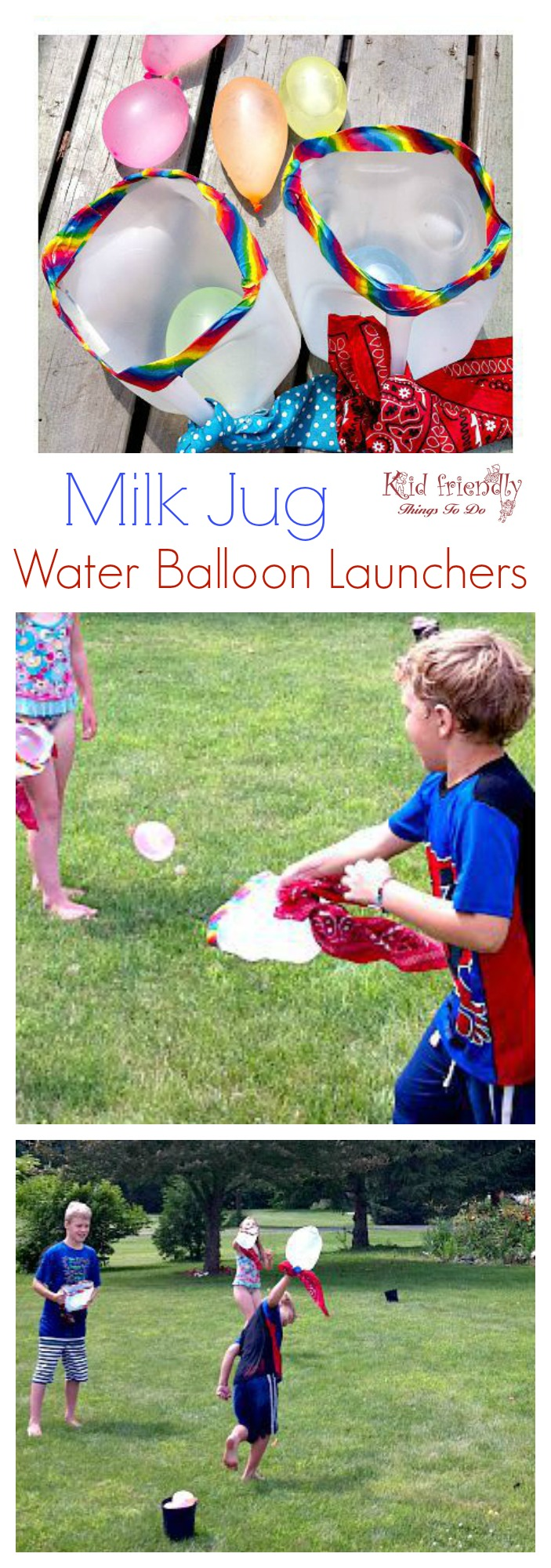 Water Balloon Toss Game