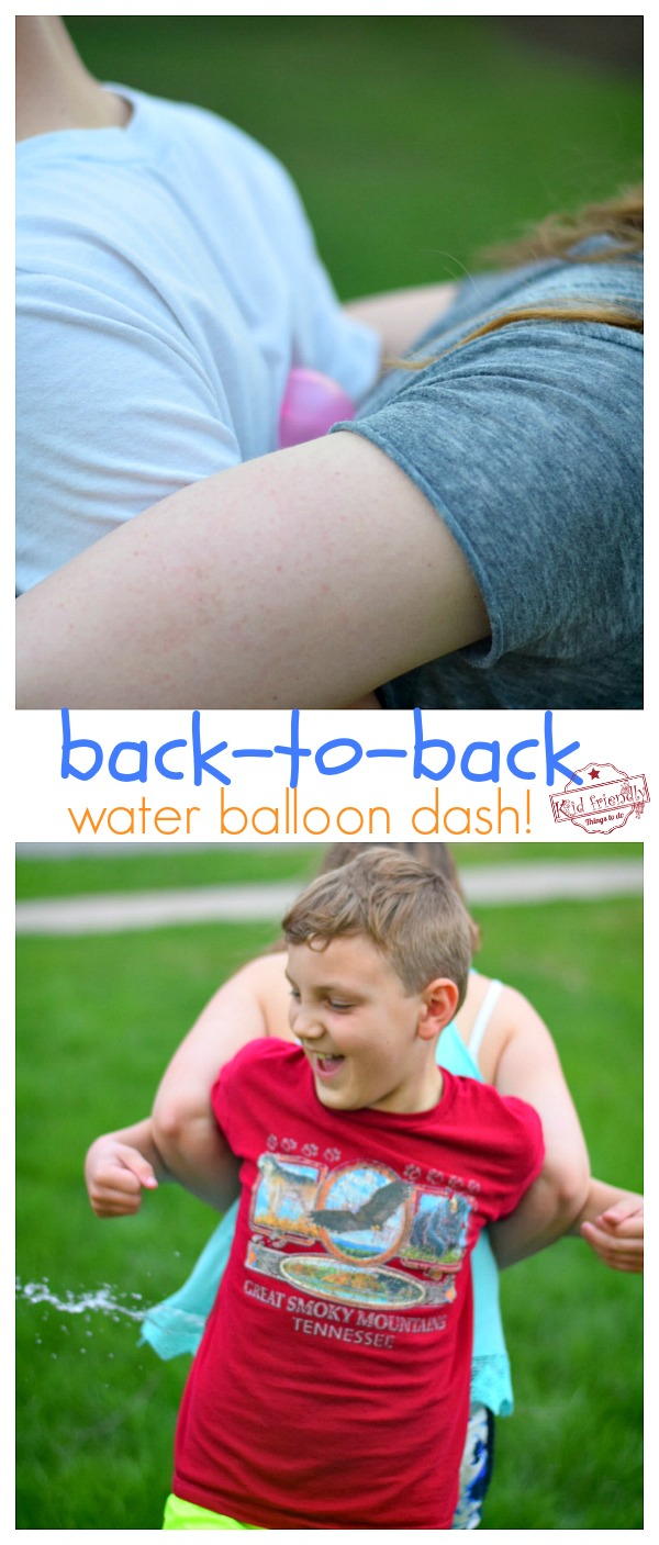 Water Balloon Game for Kids to Play