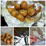 Foil Packet New Potatoes on the Grill