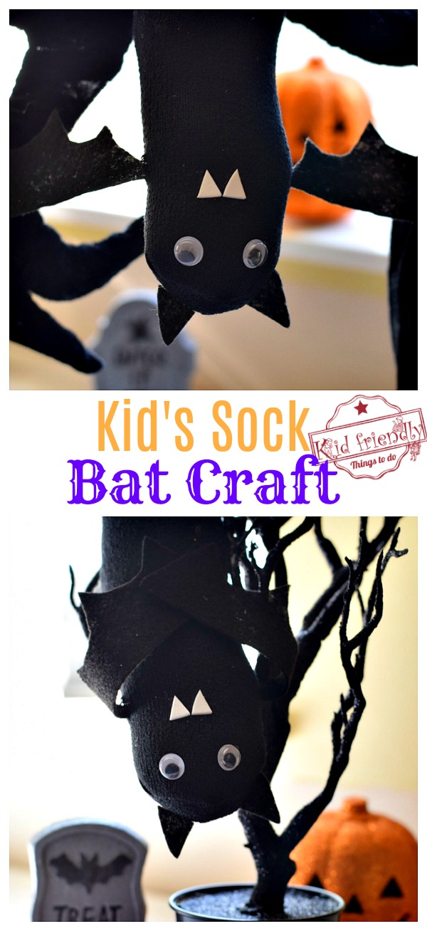 Halloween Bat Craft Idea