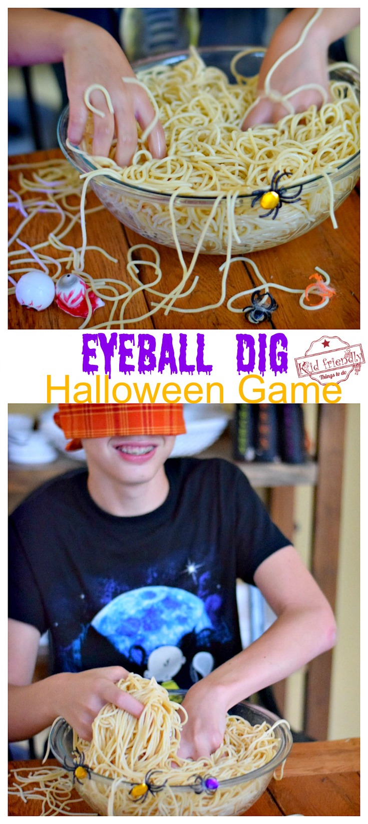 Eyeball Halloween Game for party