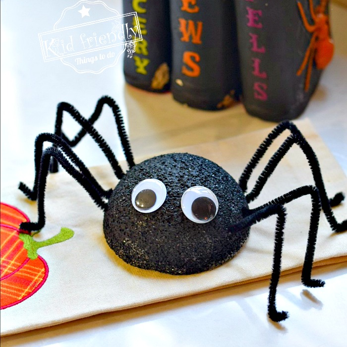An Easy Spider Craft For Kids To Make Kid Friendly Things To Do