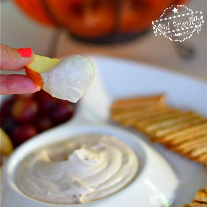 Pumpkin Spice Fruit Dip Recipe