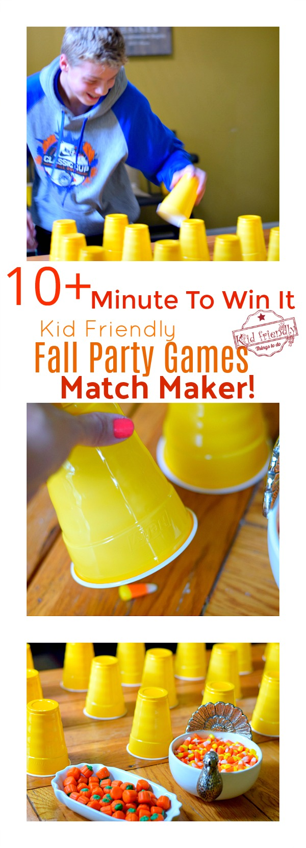 fall minute to win it game match maker