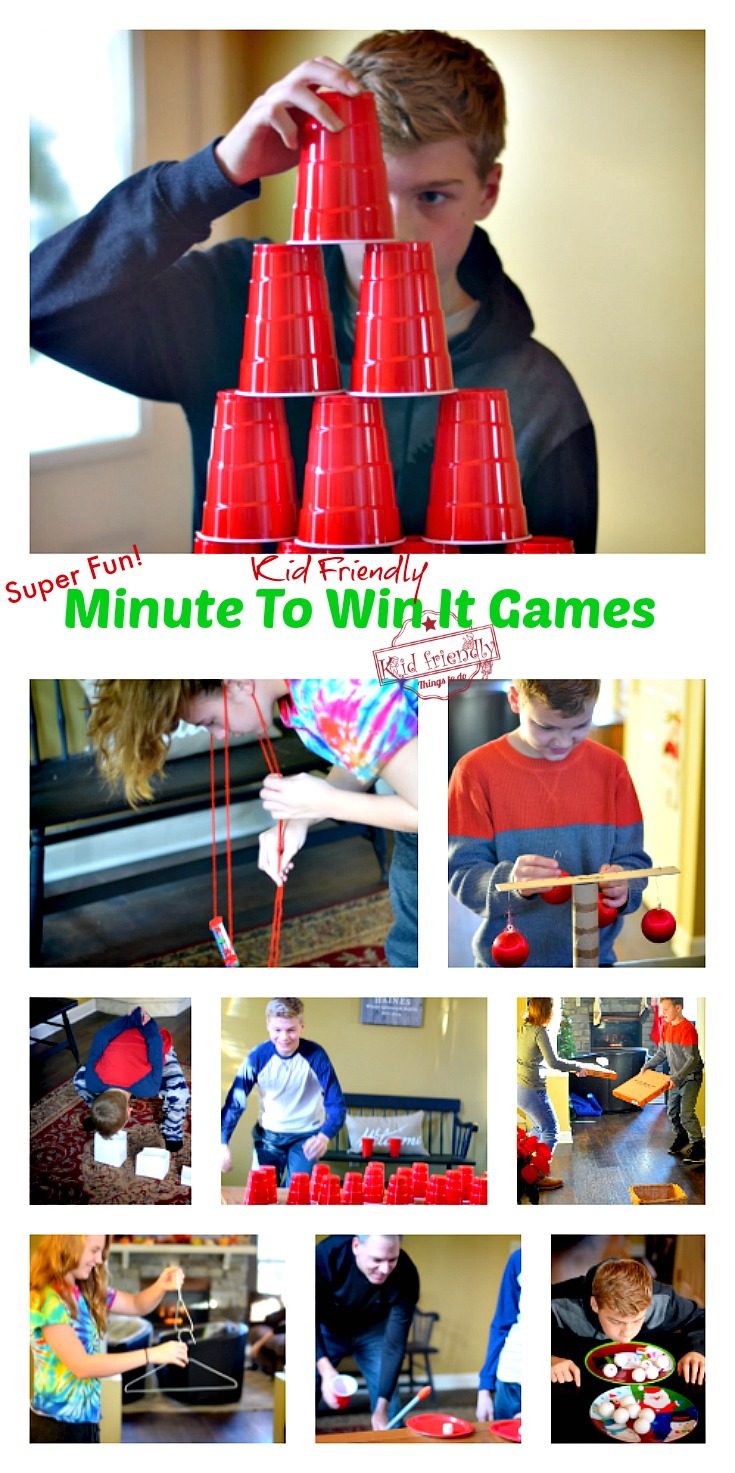minute to win it games for the family