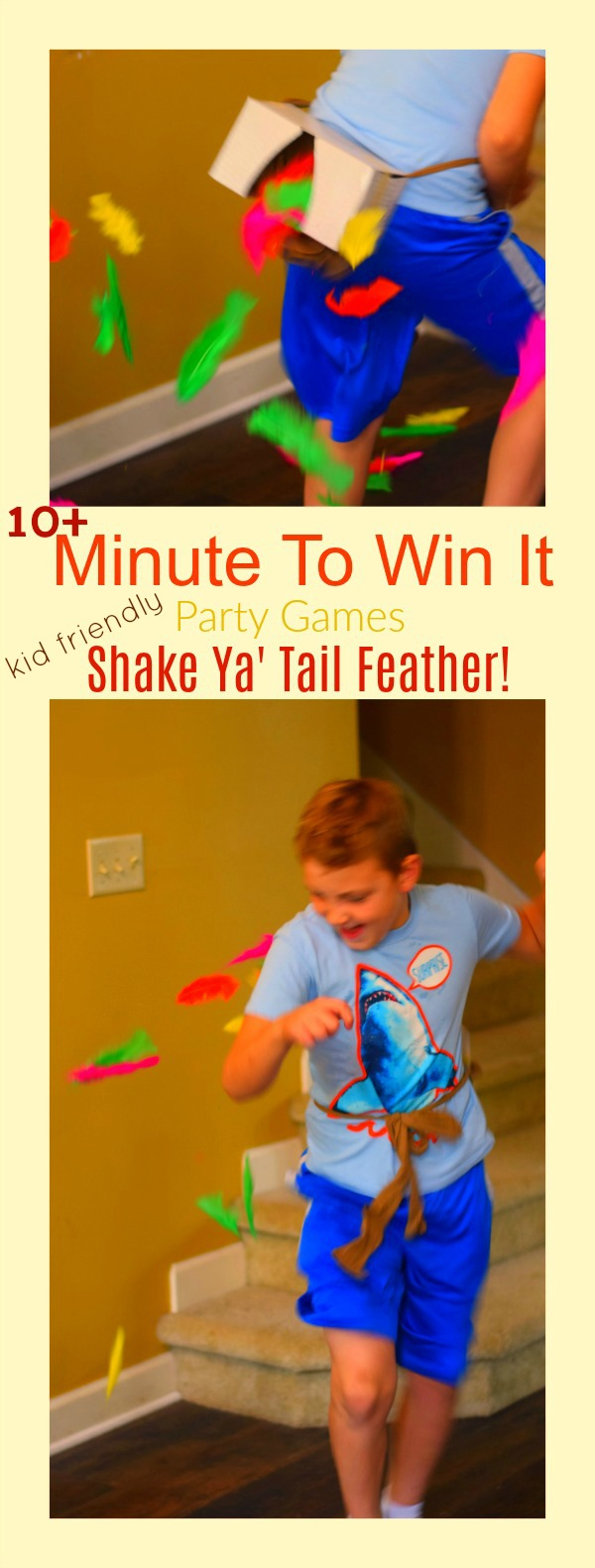 shake your tail feather minute to win it game
