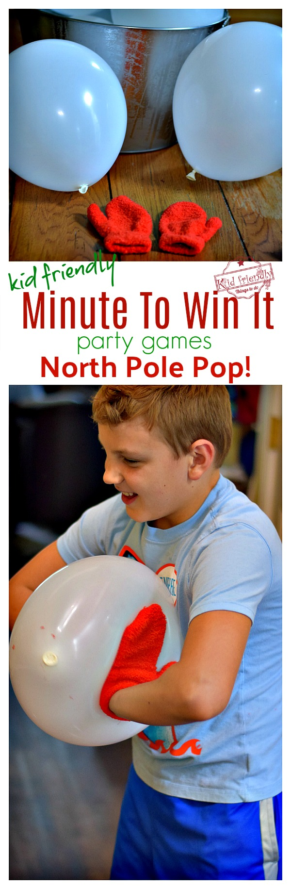 north pole pop fun christmas game to play