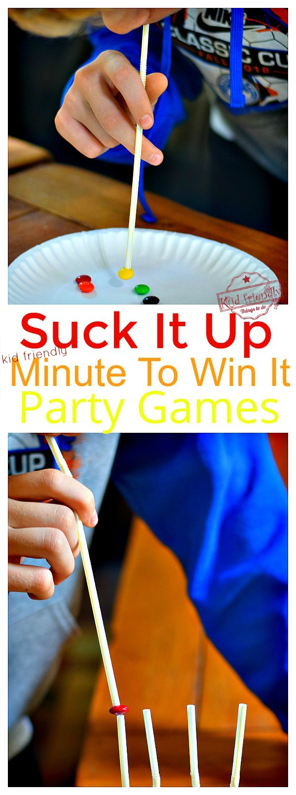 suck it up minute to win it game for teens