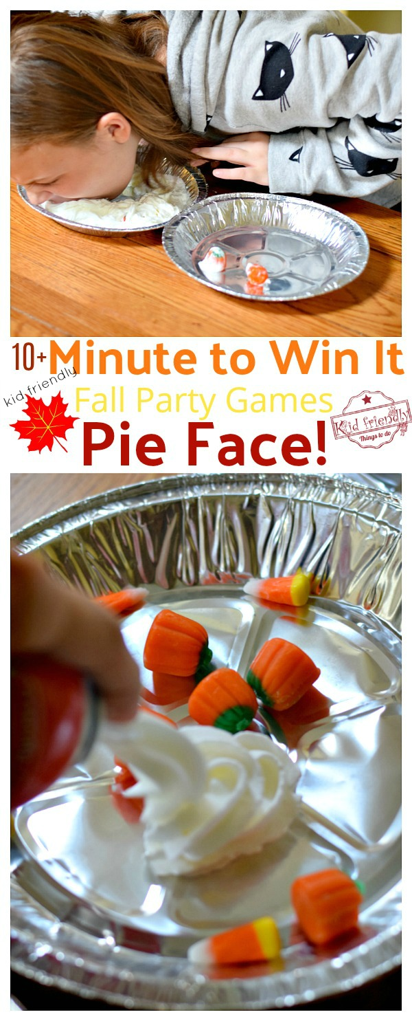 minute to win it game pie face
