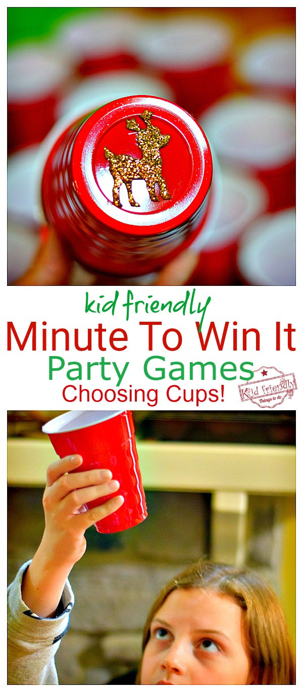 kid friendly minute to win it games