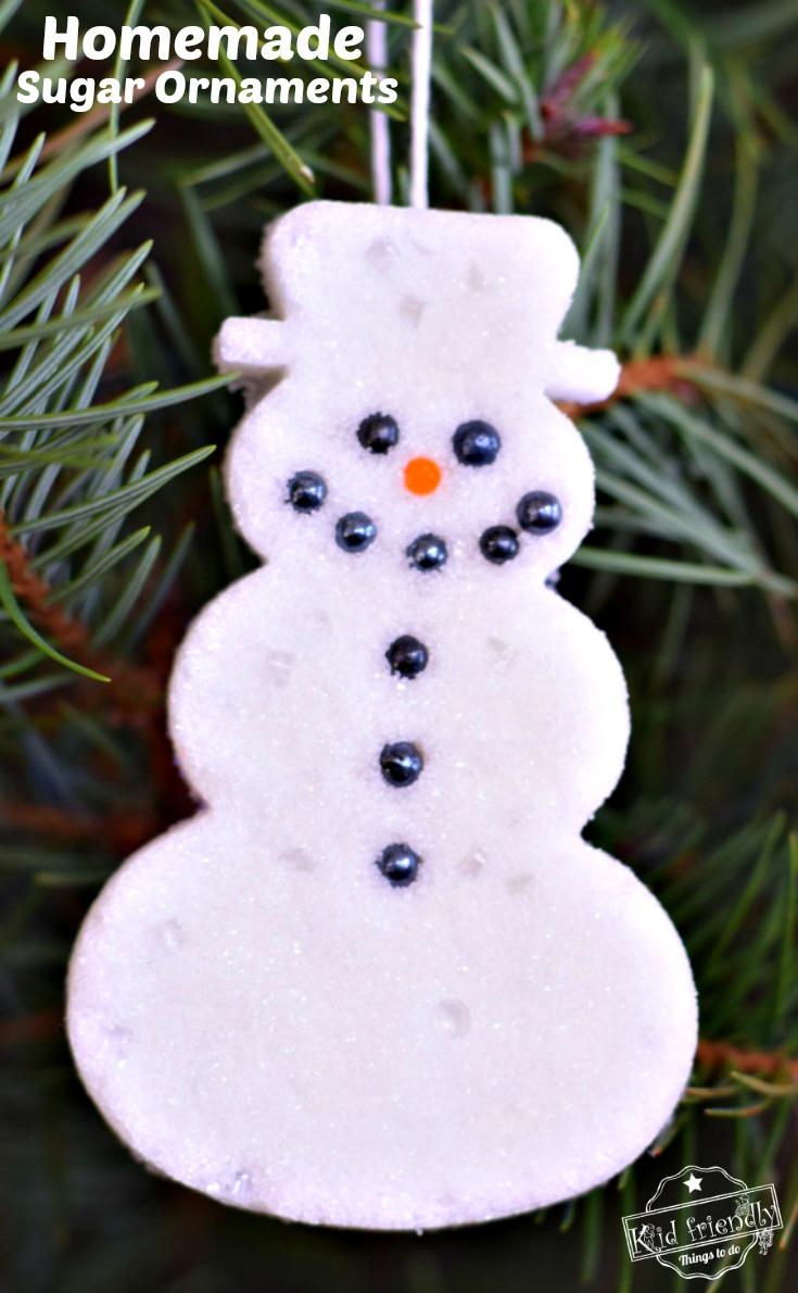 Sugar Ornament for Christmas