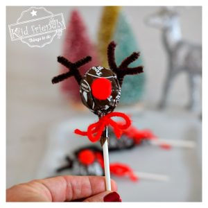 Rudolph Lollipop – A Reindeer Craft for Kids at Christmas | Kid Friendly Things To Do