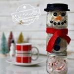 diy snowman hot cocoa kit