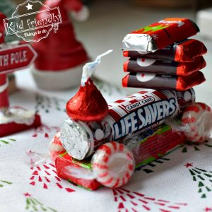 How to Make a Candy Train Craft