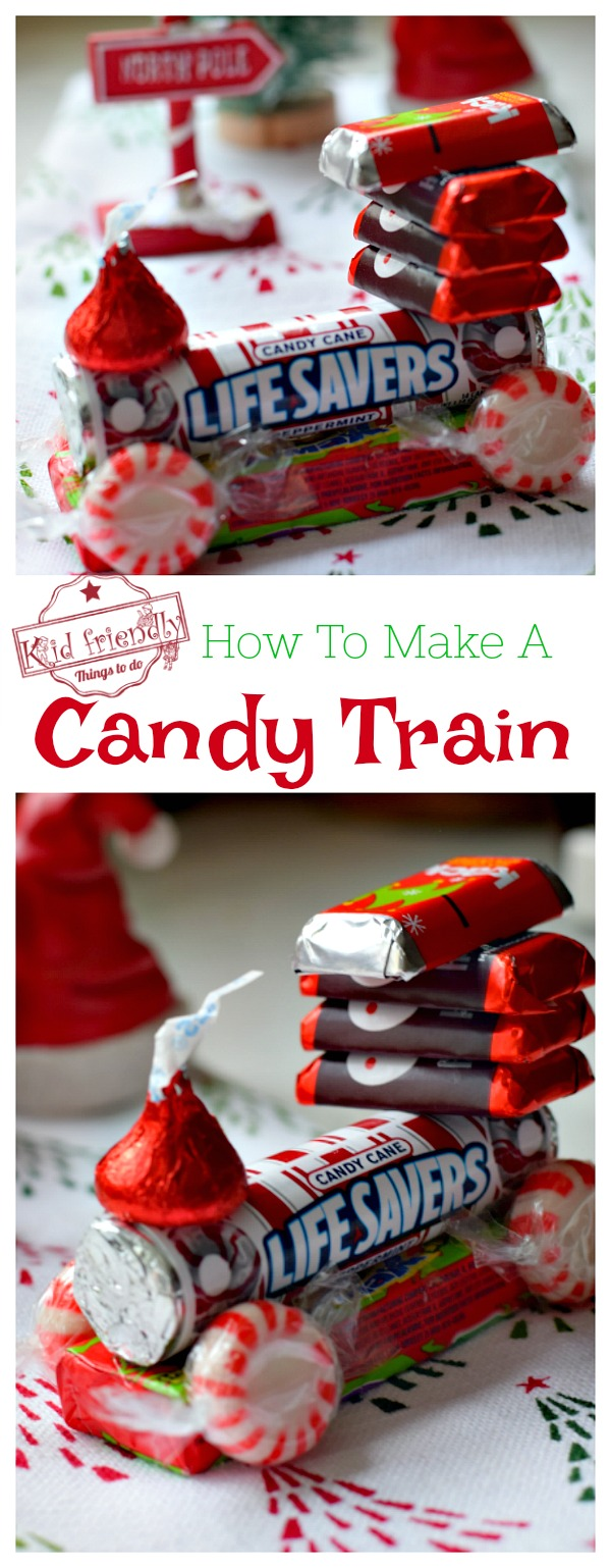Candy Train Kid's Craft for Christmas
