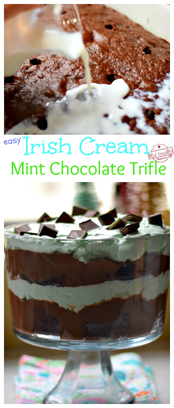 Andes Mint Chocolate Trifle