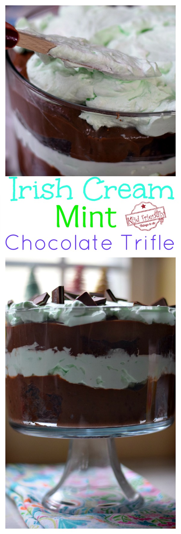 Mint Chocolate Trifle