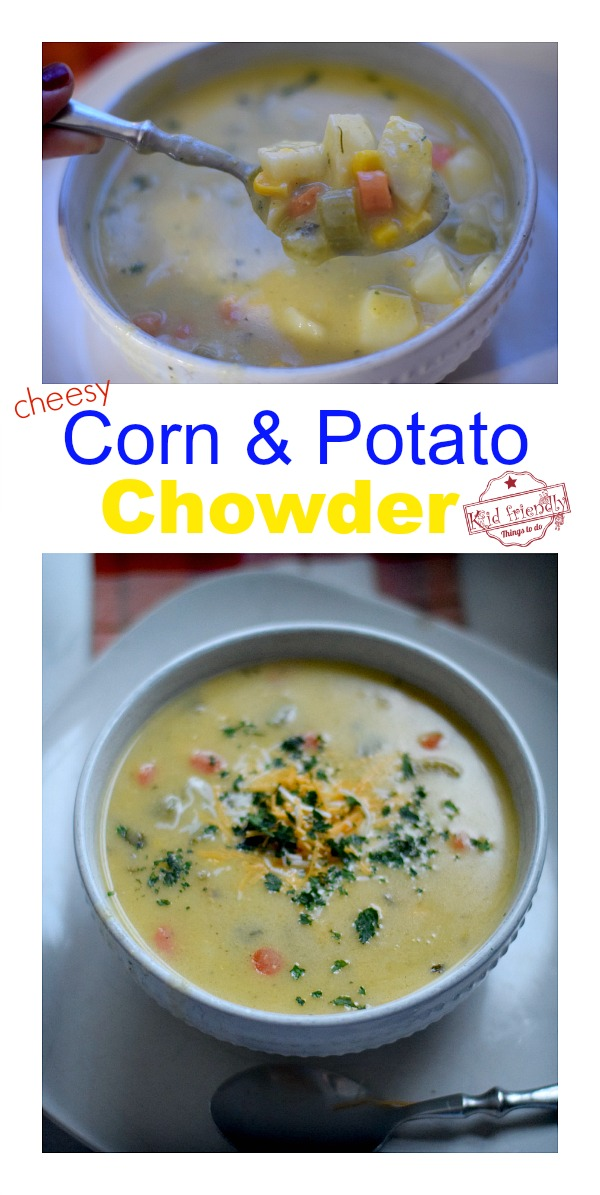 Creamy Corn and Potato Chowder Recipe