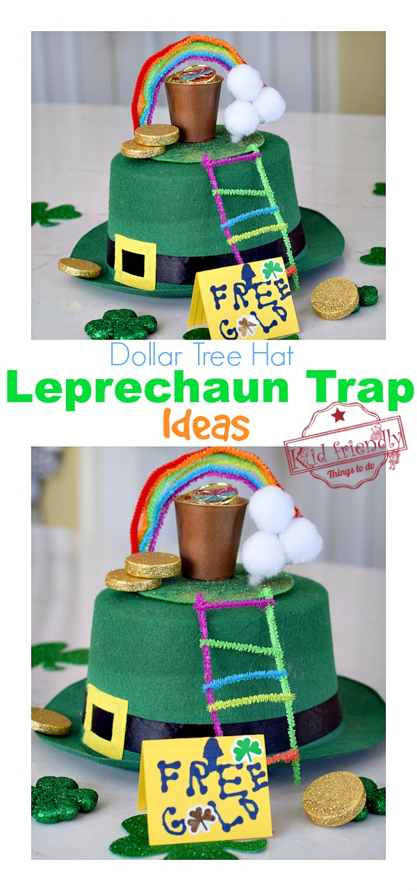 leprechaun trap idea for kids