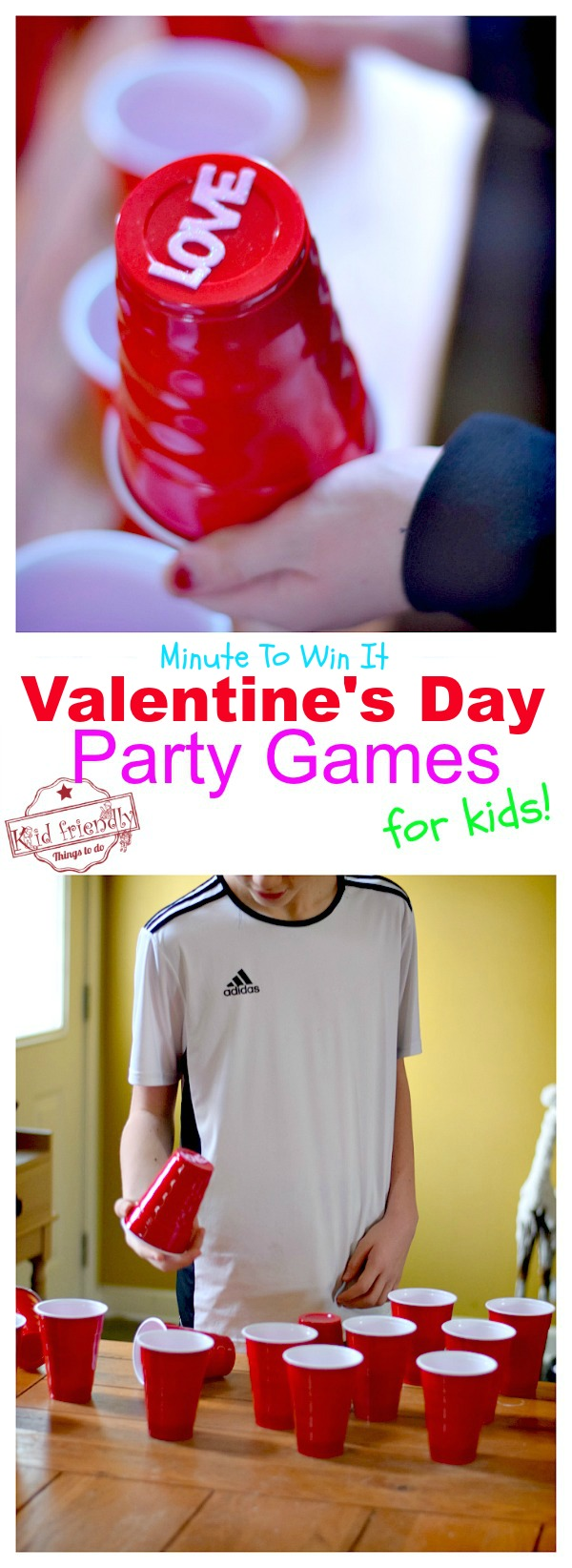 Valentines Day party game finding love
