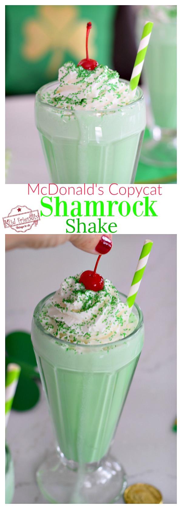 Easy Shamrock Shake Recipe for Kids