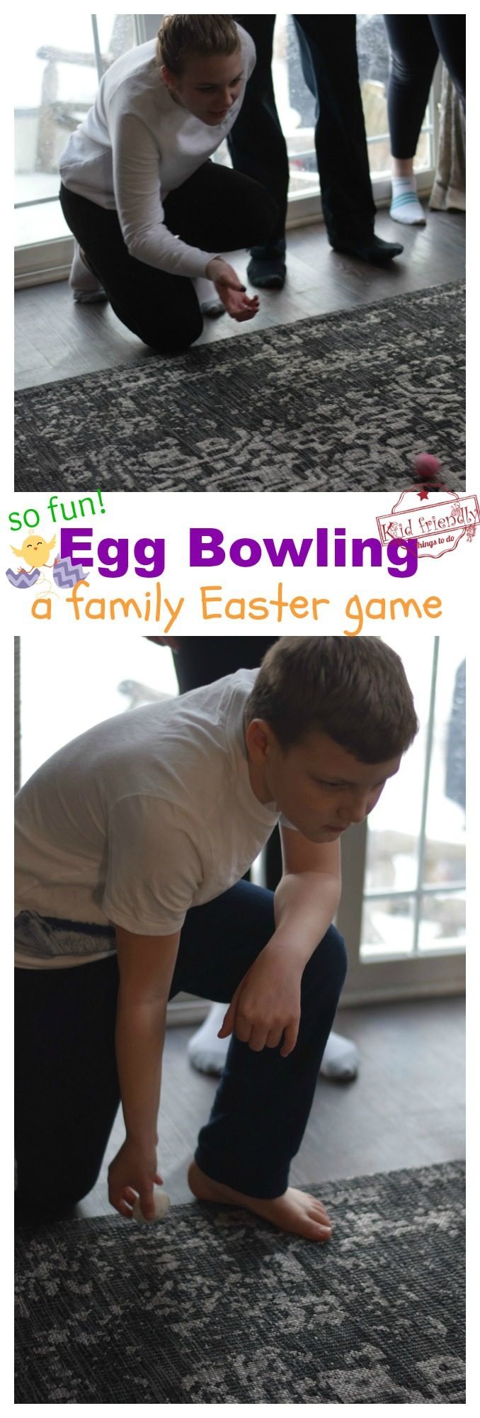 Easter Egg Bowling Game