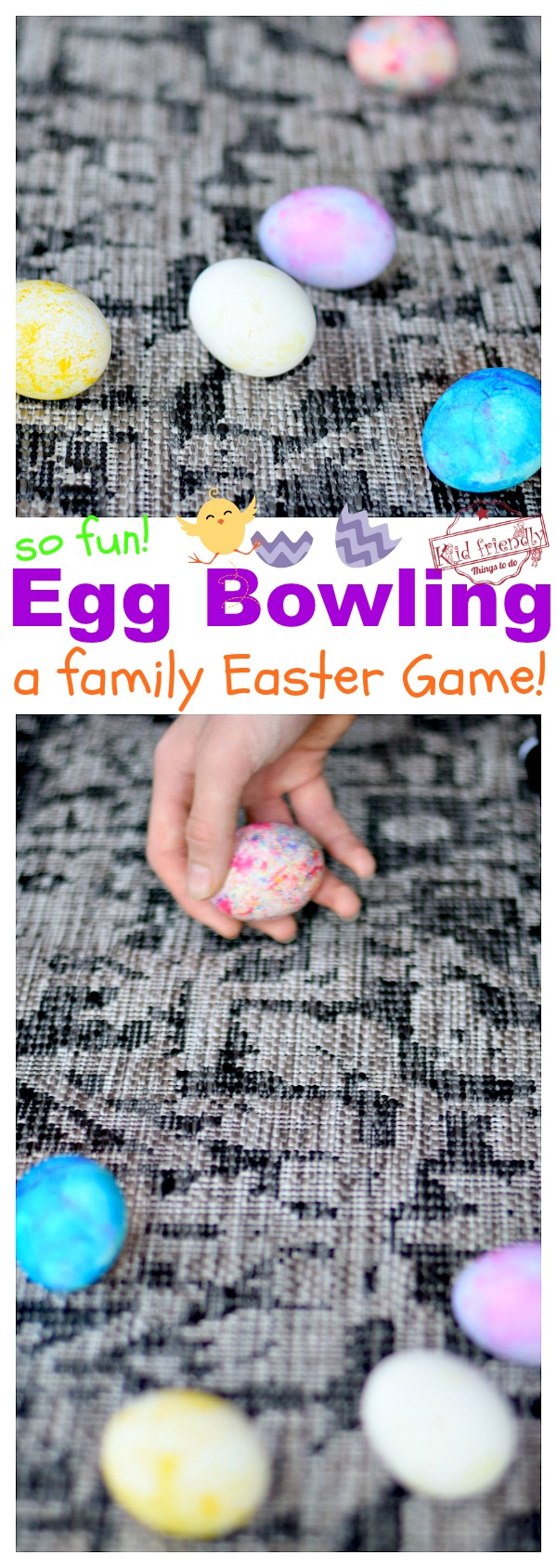 Egg Bowling Easter Game