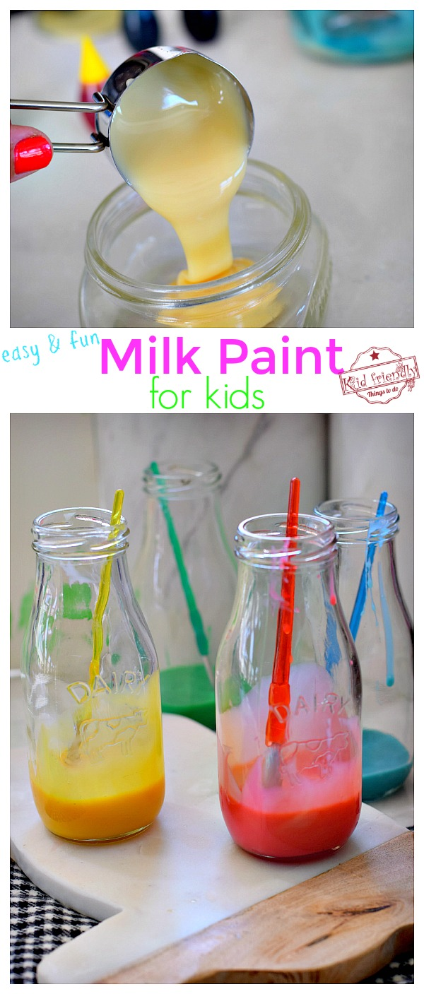 Non toxic paint recipe for kids