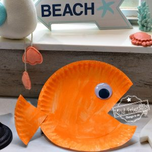 Easy Paper Plate Fish Craft for Kids | Kid Friendly Things To Do